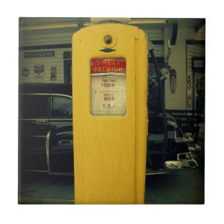Shell viejo bombea azulejo cuadrado pequeño