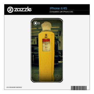 Shell viejo bombea calcomanías para el iPhone 4S