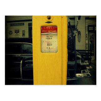 Shell viejo bombea postales