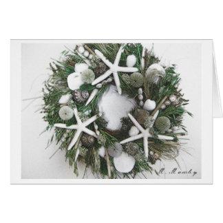 Shell Wreath Greeting Card
