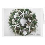 Shell Wreath Greeting Cards
