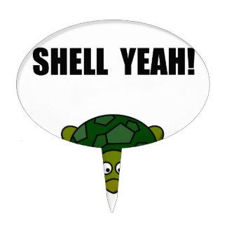 Shell Yeah Cake Topper