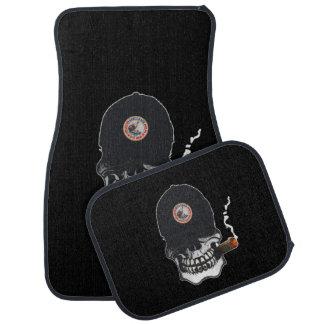 Shellback Skull Shield Car Mat