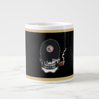 Shellback Skull Shield Large Coffee Mug