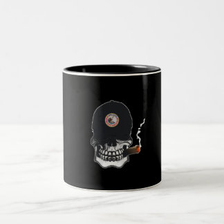 Shellback Skull Shield Two-Tone Coffee Mug