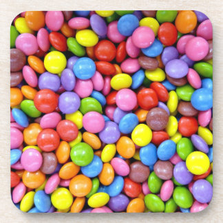 Shelled Candy Beverage Coasters