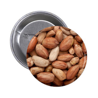 Shelled peanuts pinback button