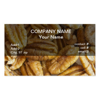 shelled pecans business cards