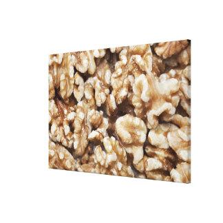 Shelled Walnuts Canvas Print