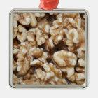 Shelled Walnuts Metal Ornament