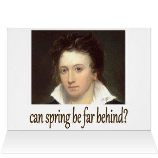 Shelley: Primavera e invierno Tarjeta
