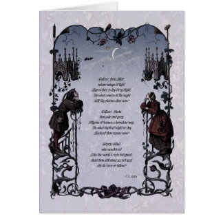 "Shelley ""Wanderers"" Victorian Art Card"
