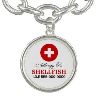 Shellfish allergy bracelet