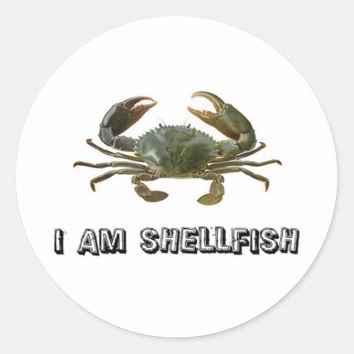 Shellfish Sticker