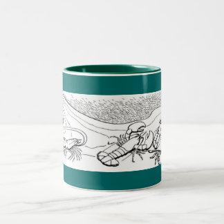 Shellfish Two-Tone Coffee Mug