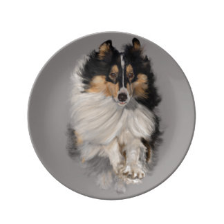 Shellie on the Move Porcelain Plate