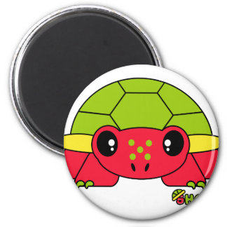 Shellie Pudgie Pet 2 Inch Round Magnet