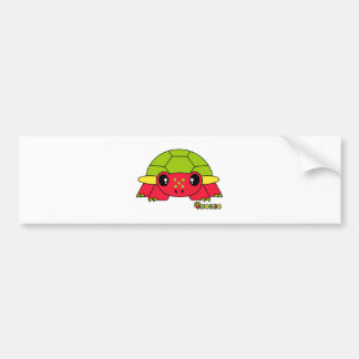 Shellie Pudgie Pet Bumper Sticker