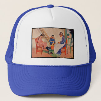 Shelling Peas Trucker Hat