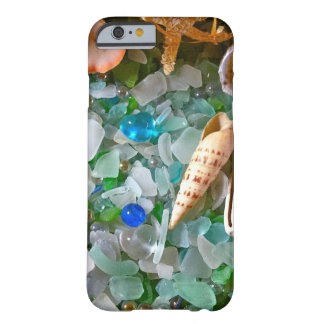 Shells and Beach Glass Barely There iPhone 6 Case