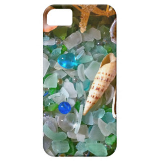 Shells and Beach Glass iPhone 5 Cases