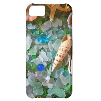 Shells and Beach Glass iPhone 5C Case