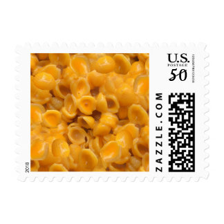 shells and cheese postage postal stamps