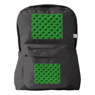 Shells and Flowers Green American Apparel™ Backpack