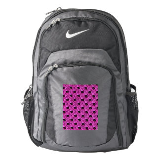Shells and Flowers Pink Nike Backpack