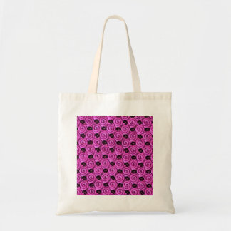 Shells and Flowers Pink Tote Bag