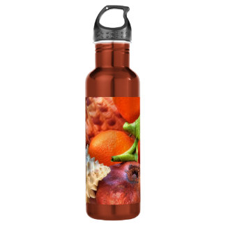 Shells and Fruits still-life 24oz Water Bottle