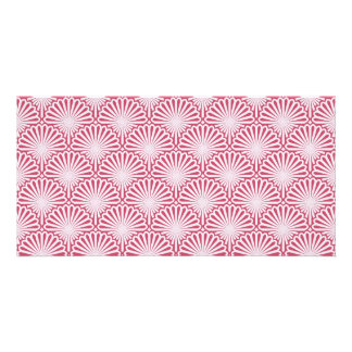 Shells artwork pattern picture card