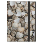 Shells background iPad cases