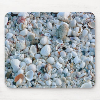 Shells Fort Myers Beach FL Mouse Pad