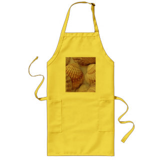 shells from Italy Long Apron