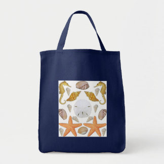 Shells Galore Grocery Tote Bag