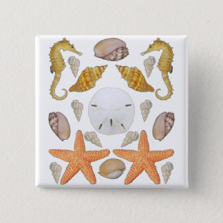 Shells Galore Pinback Button