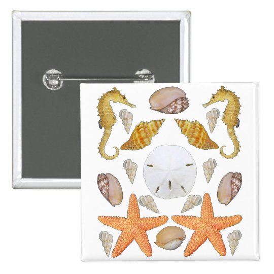 Shells Galore Pinback Button