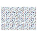 Shells, lake, illustration tissue paper