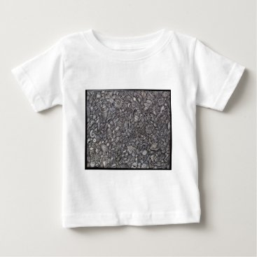 Beach Themed Shells marine Decoration of shells Baby T-Shirt