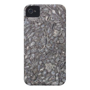 Beach Themed Shells marine Decoration of shells iPhone 4 Case-Mate Case