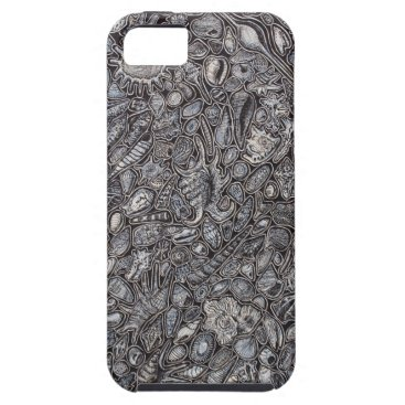 Beach Themed Shells marine Decoration of shells iPhone SE/5/5s Case