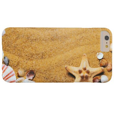 Beach Themed Shells on the beach barely there iPhone 6 plus case