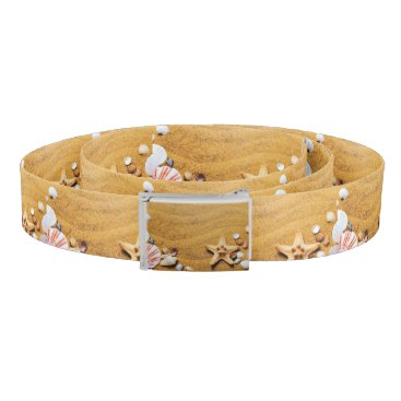 Beach Themed Shells on the beach belt