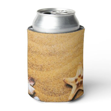 Shells on the beach can cooler