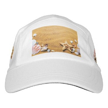 Beach Themed Shells on the beach hat