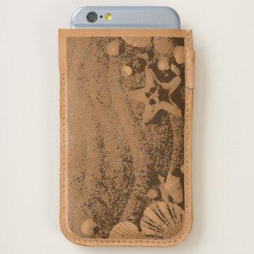 Beach Themed Shells on the beach iPhone 6/6S case