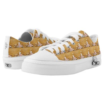 Beach Themed Shells on the beach Low-Top sneakers