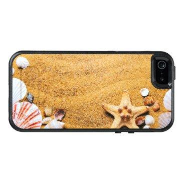 Beach Themed Shells on the beach OtterBox iPhone 5/5s/SE case
