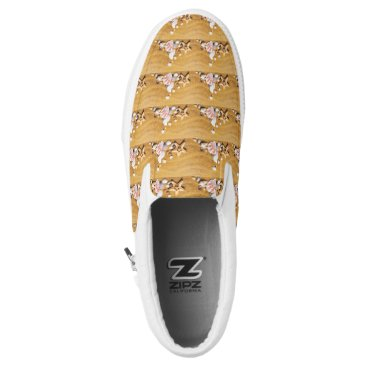 Beach Themed Shells on the beach Slip-On sneakers